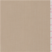 *2 1/4 YD PC--Tan/Coral Stripe Suiting