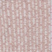 *2 YD PC--Heather Beige Burnout Jersey Knit