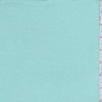Heather Turquoise Double Brushed Jersey Knit
