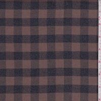 Mocha/Black Buffalo Check Flannel