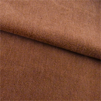 *2 1/2 YD PC--Dark Tan Beige Alpaca Velveteen Home Decorating Fabric