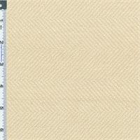 *2 3/8 YD PC--Oatmeal Beige Herringbone Home Decorating Fabric