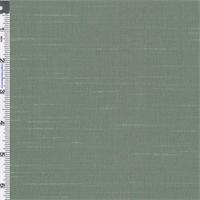 *1 1/8 YD PC--Eucalyptus Teal Iridescent Shantung Home Decorating Fabric