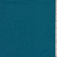 *1 YD PC--Heather Teal Cotton Twill