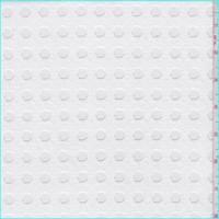 *7 1/2 YD PC--White Dot Mesh Lace