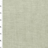 *2 YD PC--Gray/Ivory Wool Blend Twill Suiting