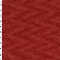 *4 YD PC--Red Herringbone Home Decorating Fabric