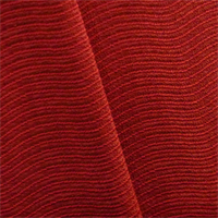 *4 YD PC--Apple Red Wave Rib Home Decorating Fabric