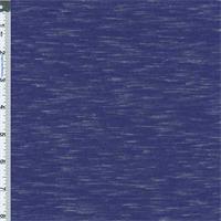 *1 1/2 YD PC--Blue Slub Jersey Knit