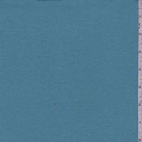 *7/8 YD PC--Dark Turquoise Cotton Interlock  Knit