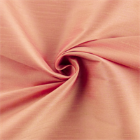 *1 YD PC--Flamingo Pink Iridescent Shantung Home Decorating Fabric
