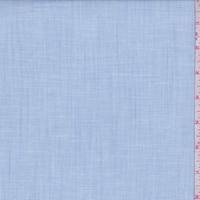 Pale Blue Slubbed Cotton Shirting