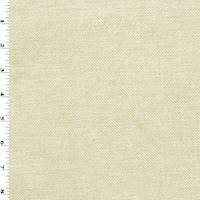 *4 YD PC--Ivory/Beige Brush Twill Upholstery Fabric