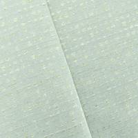 *9 1/2 YD PC-- Mist Teal/Gold Sparkle Dot Jacquard Home Decorating Fabric
