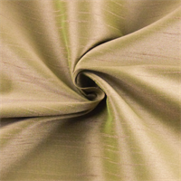 *4 1/2 YD PC--Taupe/Green Iridescent Shantung Home Decorating Fabric