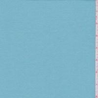 *5/8 YD PC--Robin Egg Blue Cotton Interlock  Knit