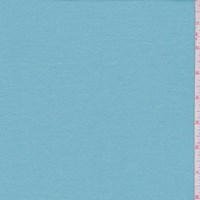 *1 3/4 YD PC--Robin Egg Blue Cotton Interlock  Knit