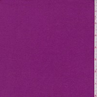 *1 1/8 YD PC--Heather Magenta Cotton Interlock  Knit