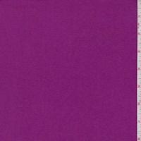 *3 1/8 YD PC--Heather Magenta Cotton Interlock  Knit