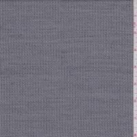 *10 YD PC--Black/Grey Wool Blend Stripe Suiting