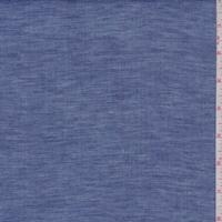 Vintage Blue Linen Shirting
