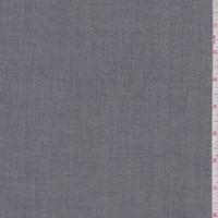 *2 3/4 YD PC--Dark Slate Grey Cotton Shirting