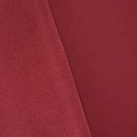 Jewel Red Textured Velvet Home Decorating Fabric