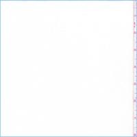 White Modal Jersey Knit
