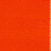 Ambrosia Orange Sweater Jersey Knit