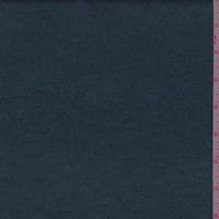 Heather Dark Teal Sweater Jersey Knit
