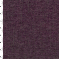 *9 3/4 YD PC--Luscious Plum Chenille Home Decorating Fabric