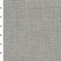 *3 1/2 YD PC--Gray/Blue Tuffted Chenille Stripe Home Decorating Fabric