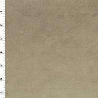 *6 3/8 YD PC--Sandy Beige Luminous Velvet Home Decorating Fabric