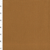 *9 1/4 YD PC--Golden Brown Cotton Pique Home Decorating Fabric