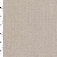 *3 YD PC--Timid Taupe Semi-Sheer Mommie Crepe