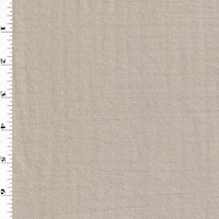 *4 1/2 YD PC--Timid Taupe Semi-Sheer Mommie Crepe