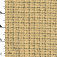 *2 1/4 YD PC--Citrine Beige Woven Wool Dobby Coating