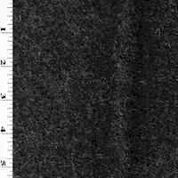 *4 3/4 YD PC--Black/Mist Wool Blend Textured Woven Jacketing