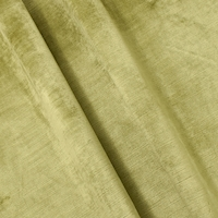 Moss Green/Pearl Textured Velvet Home Decorating Fabric