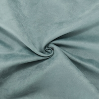 Dusty Green Faux Suede Home Decorating Fabric