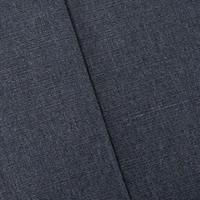 Dusty Navy Perennials Indoor/Outdoor Rib Slub Decor Fabric