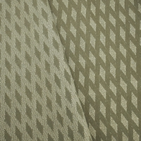 Dill Green/Ivory Wool Blend Abstract Damask Home Decorating Fabric