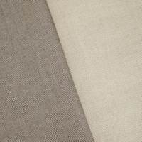 Brown/Ivory Wool Blend Twill Woven Home Decorating Fabric