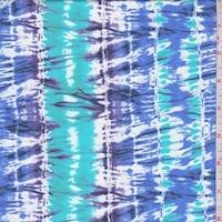 Turquoise/Purple/Blue Seismic Swimwear