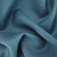 *2 YD PC--Blue Indigo Designer Glynn Linen Home Decorating Fabric