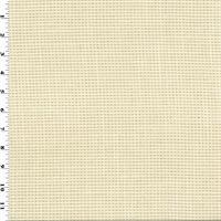 *3 1/4 YD PC--Designer Bone Beige Crewcut Performance Home Decorating Fabric