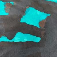 *1 YD PC--ITY Midnight/Aquamarine Geode Jersey Knit