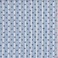 Blue/White Stripe/Star Cotton
