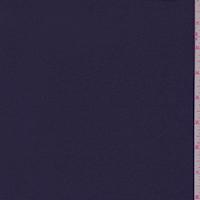Midnight Purple Satin Back Crepe