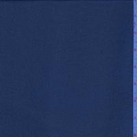 Navy Blue Mini Grid Chiffon